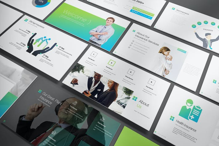 Thumbnail for Insurance PowerPoint Presentation