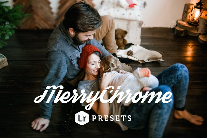 Cover Image For Merrychrome Lightroom Presets