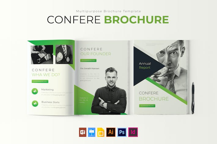 Thumbnail for Confere | Brochure Template