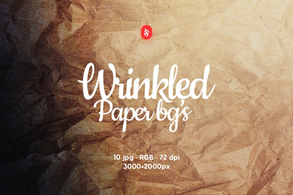 Download Wrinkled Paper Backgrounds by themefire