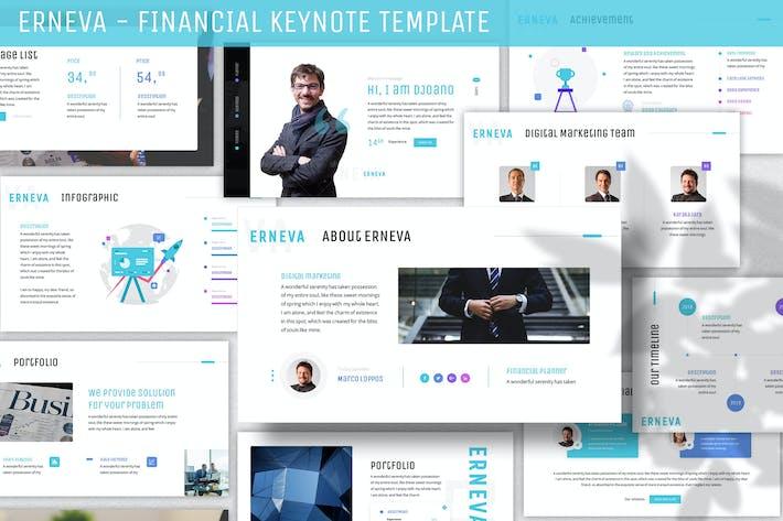 Thumbnail for Erneva - Financial Keynote Template