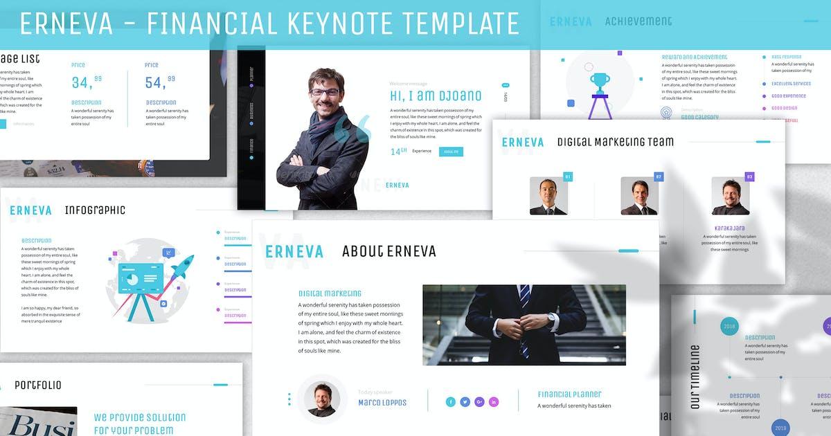 Download Erneva - Financial Keynote Template by SlideFactory