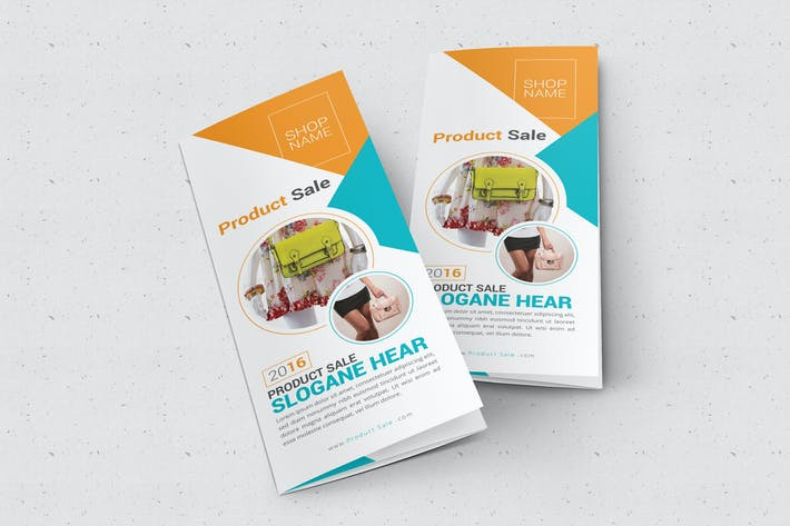 Thumbnail for Product Sale Trifold Brochure