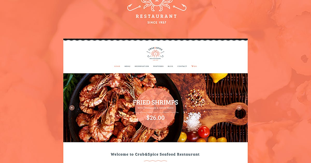 Download Crab & Spice by ThemeREX