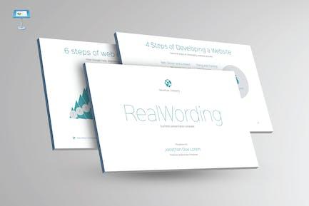 REAL WORDING - Multipurpose Keynote Template V22