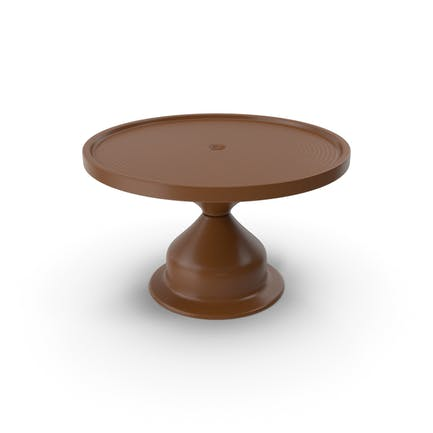 Cake Stand Brown
