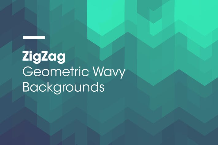 Thumbnail for ZigZag | Geometric Wavy Backgrounds