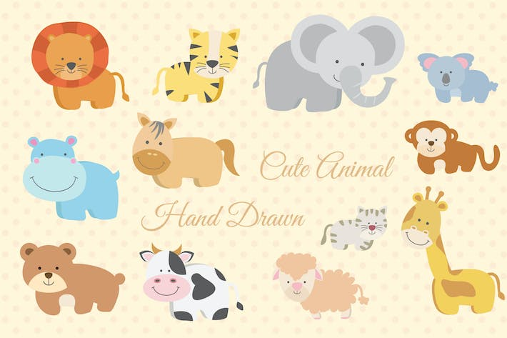 Cover Image For Cute Animal
