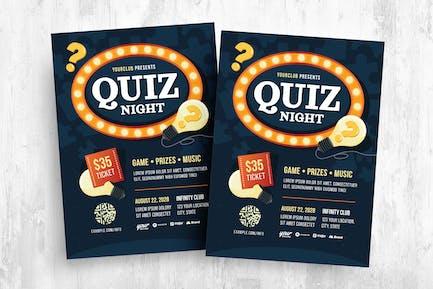 Pub Quiz Flyer Template