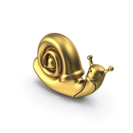 Schnecke Golden