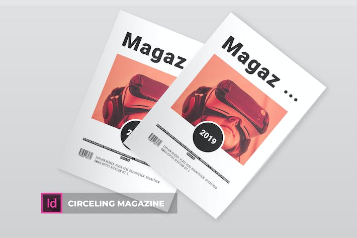 Thumbnail for Circeling | Magazine Template
