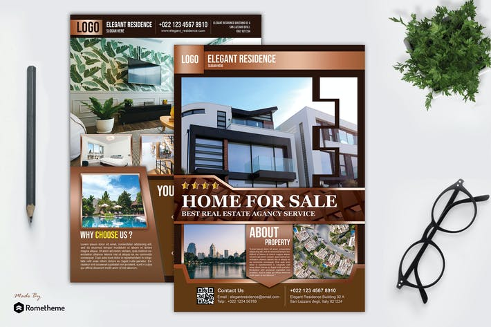 Thumbnail for Real Estate Flyer vol.02 HR
