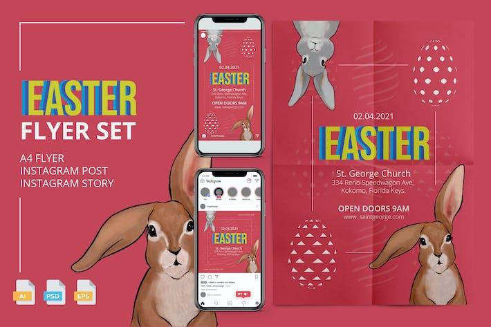 Easter Flyer - Print and Social Media Pack