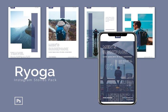 Thumbnail for Ryoga - Instagram Story Pack