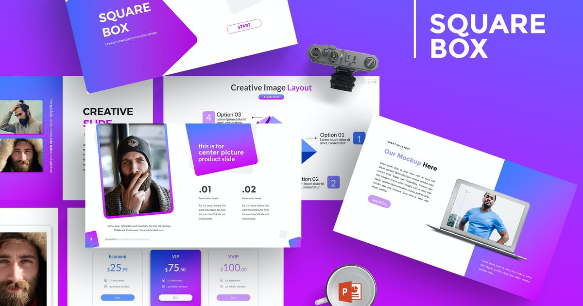 Download SquareBox - Powerpoint Template by Unknow