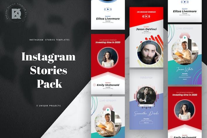 Thumbnail for Webinar Livestream Instagram Stories
