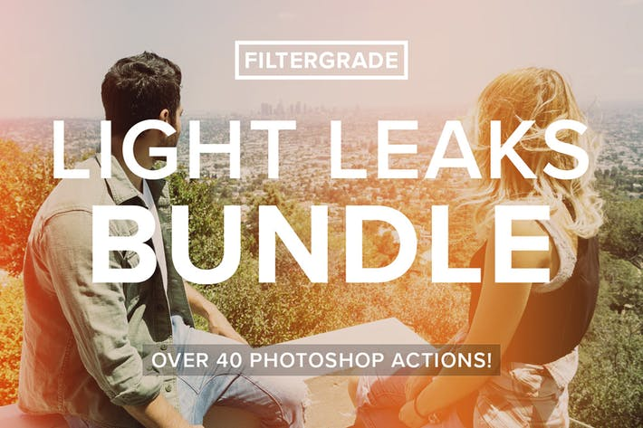 Thumbnail for FilterGrade Light Leaks Bundle