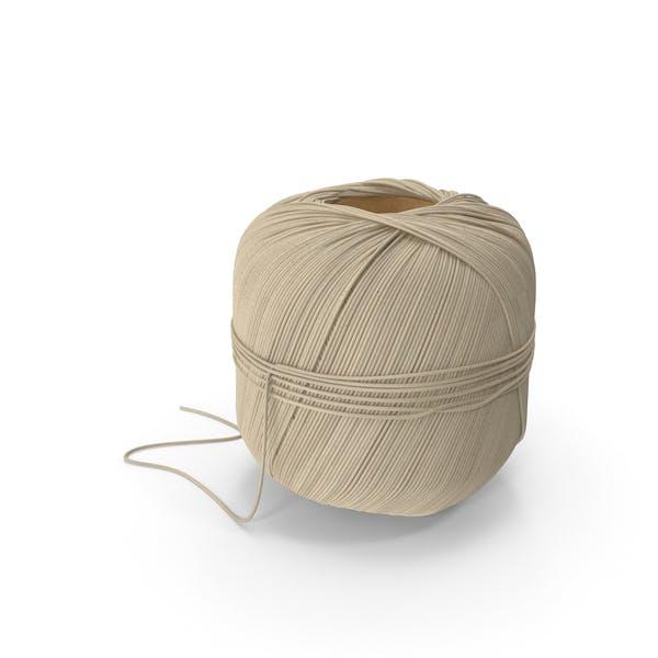 Bobina de hilo de cocina de lino