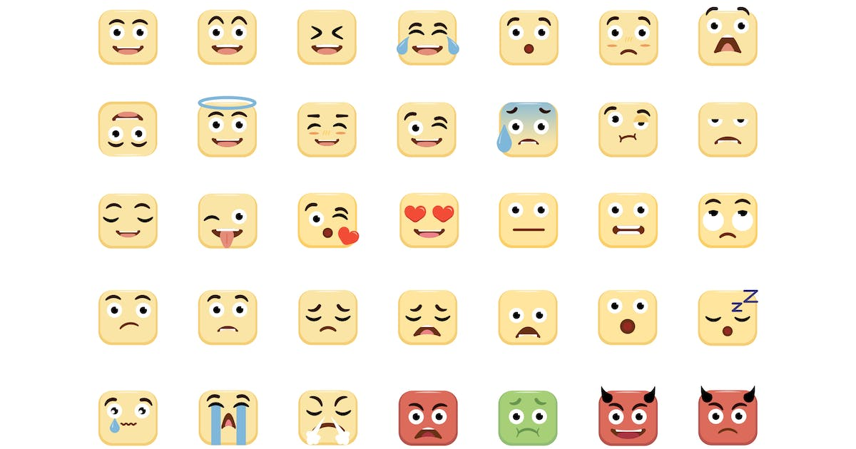 Download Emoji - Icons Pack by Zomorsky