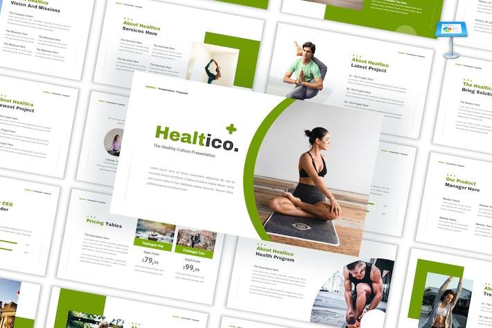 Healtico - Healthy Culture Keynote Template