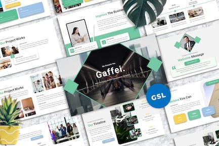 Gaffei - Company Profile Googleslide Templates