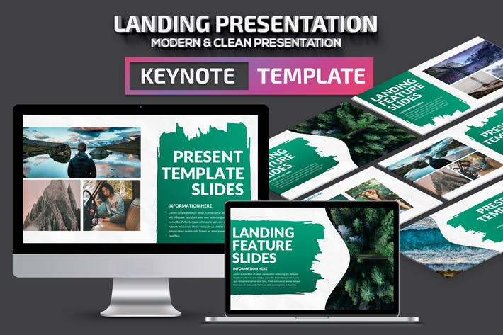Thumbnail for Landing Keynote Presentation