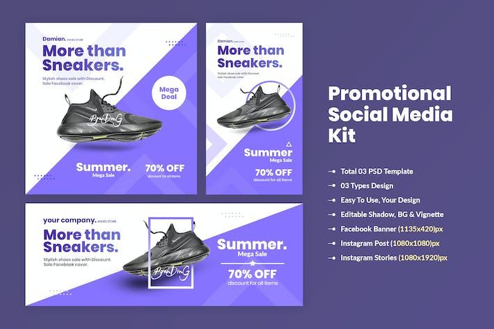 Thumbnail for Promotional Social Media Kit