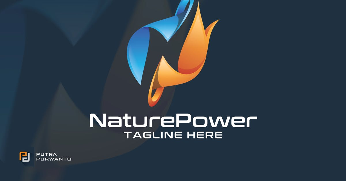 Download Nature Power - Logo Template by putra_purwanto