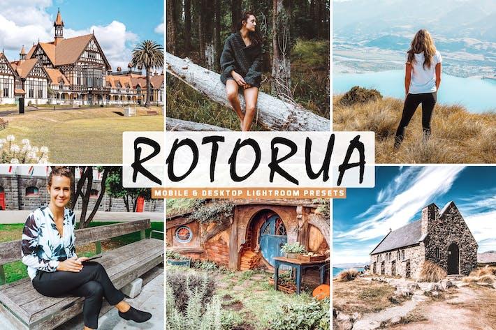 Thumbnail for Rotorua Mobile & Desktop Lightroom Presets