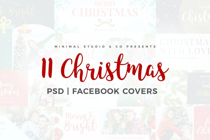 Thumbnail for Christmas Facebook Covers