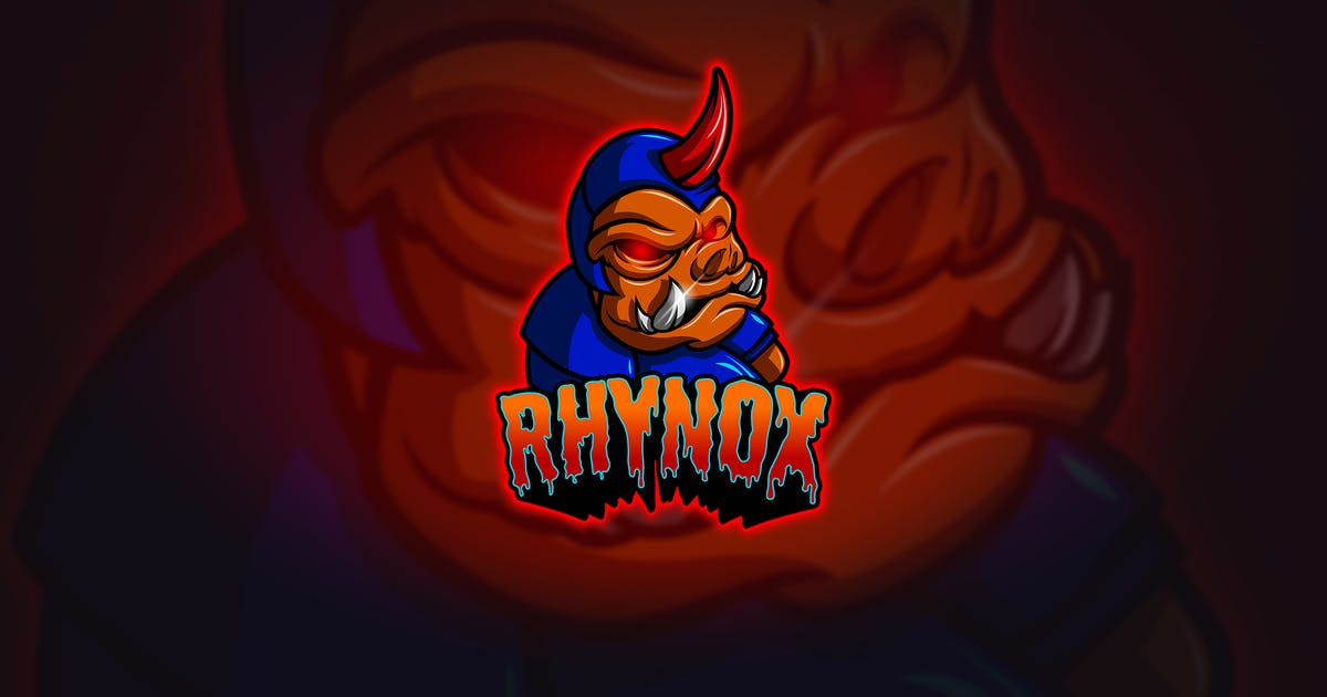 Download Rhynox - Mascot & Esport Logo by aqrstudio