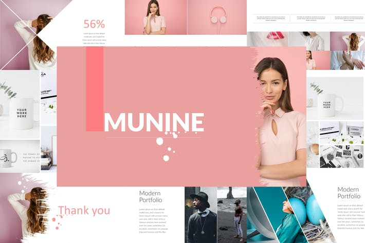 Thumbnail for MUNINE Powerpoint Template