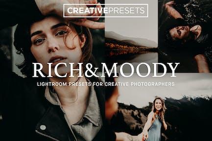 Rich & Moody Lightroom presets