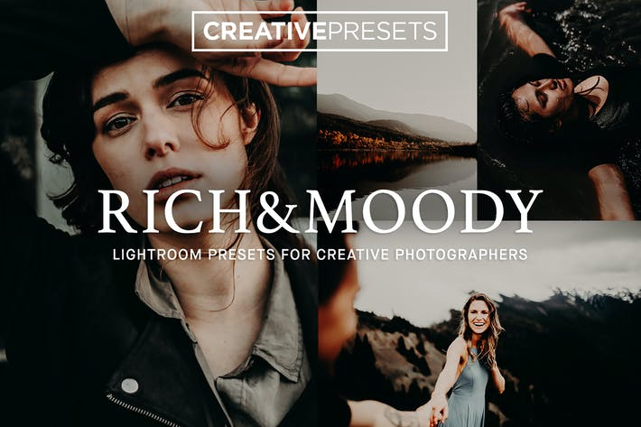 Thumbnail for Rich & Moody Lightroom presets