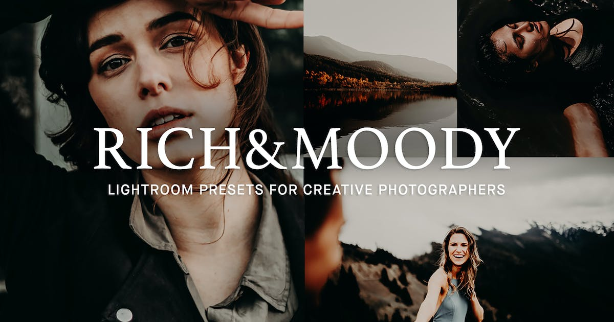Download Rich & Moody Lightroom presets by 2FX