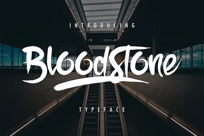 Thumbnail for BloodStone Typeface
