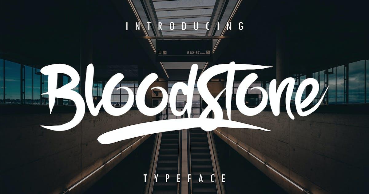 BloodStone Typeface by Sizimon-id