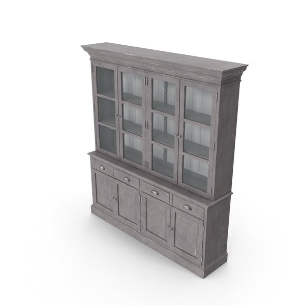 Traditional Display Cabinet