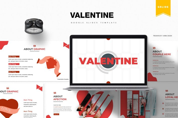 Thumbnail for Valentine | Google Slides Template