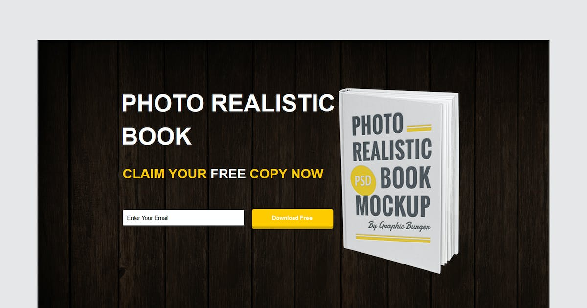 Download Ebook Unbounce Template by xvelopers