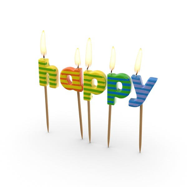 Cover Image for Happy Birthday Candles