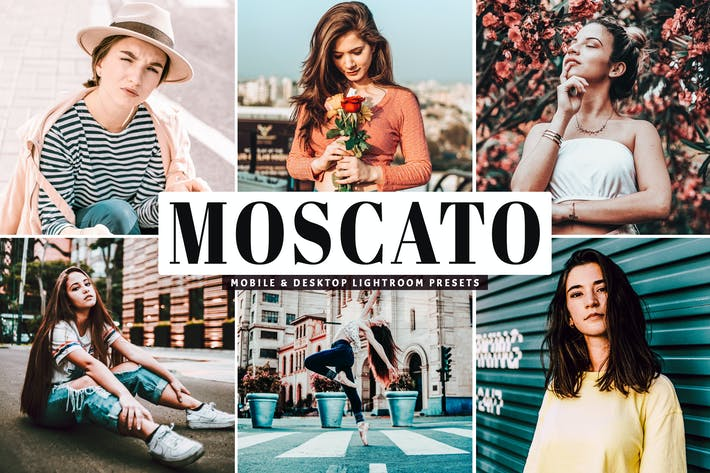 Thumbnail for Moscato Mobile & Desktop Lightroom Presets