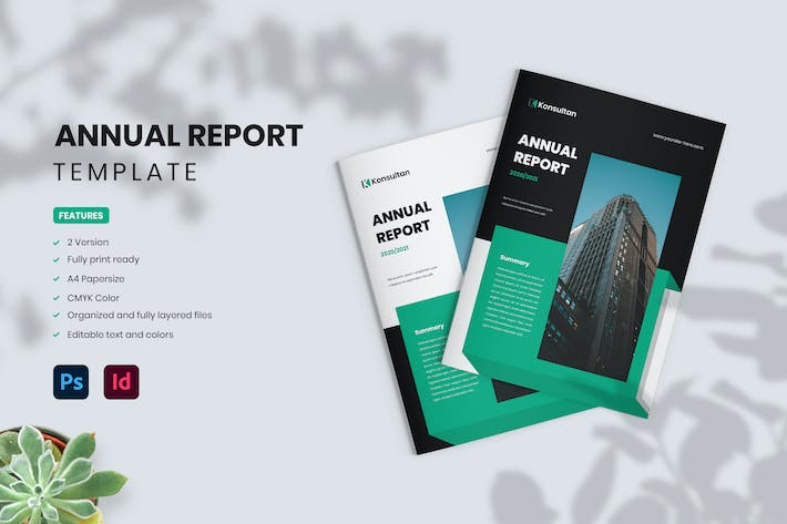Annual Report - Konsultan 1