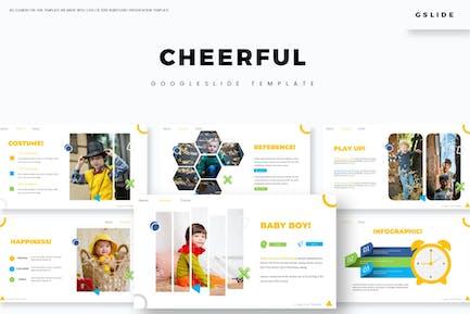 Cheerful - Google Slides Template