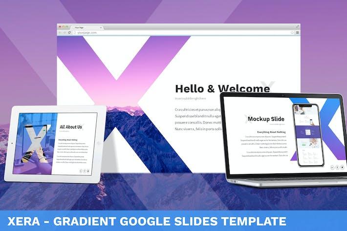 Thumbnail for Xera - Gradient Google Slides Template