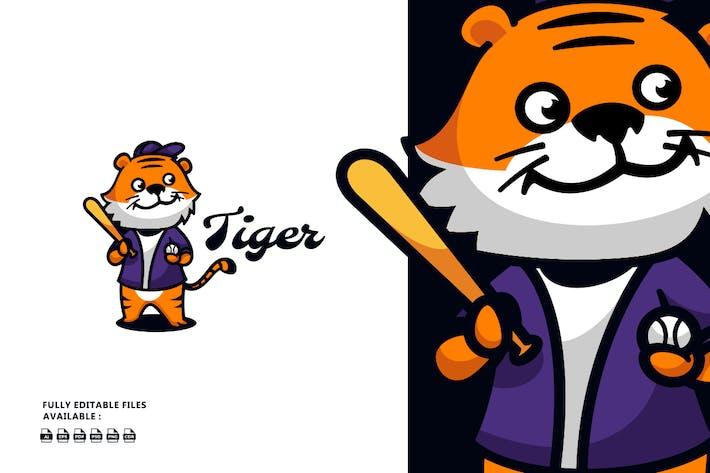 Tiger Cartoon Logo