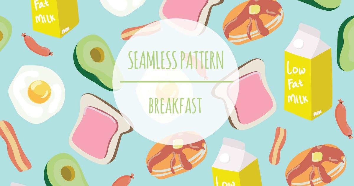 Download Breakfast – Seamless Pattern by designesto