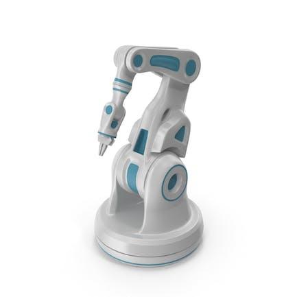 Sci-Fi Roboterarm-Labor-Manipulator