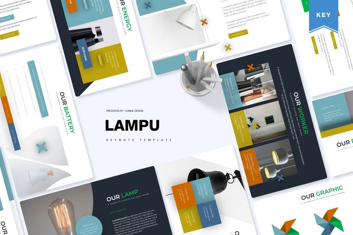Thumbnail for Lampu | Шаблон Keynote