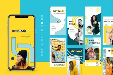 Hara - Pop Art Instagram Stories Kit